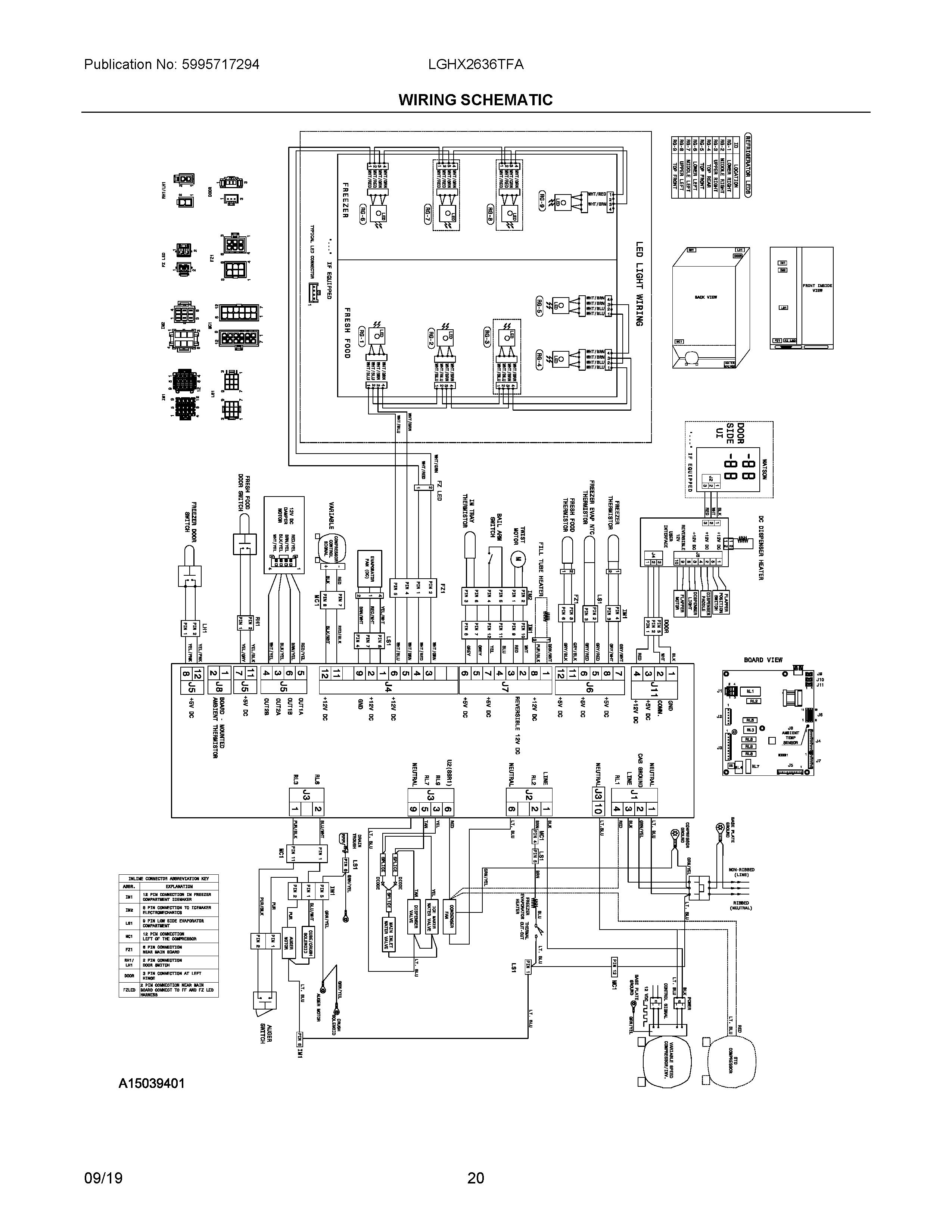 Electrolux Wiring Schematic