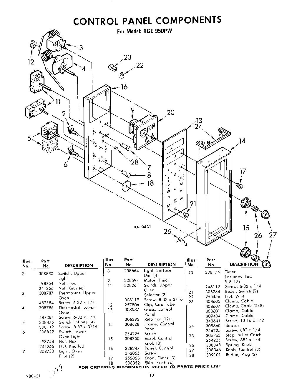 RGE950PW