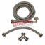S/S STEAM DRYER HOSE KIT